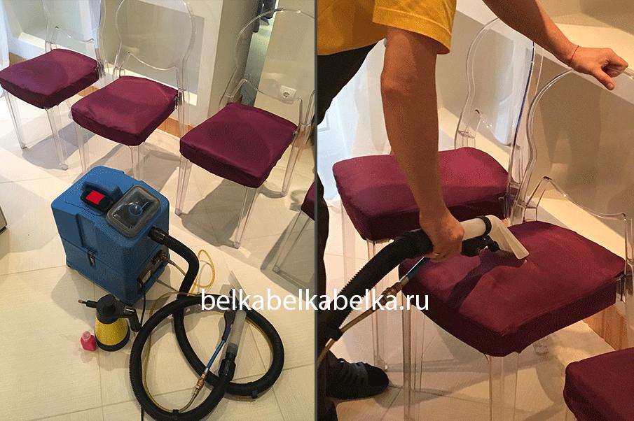Химчистка стульев без спинки, пакет Стандарт