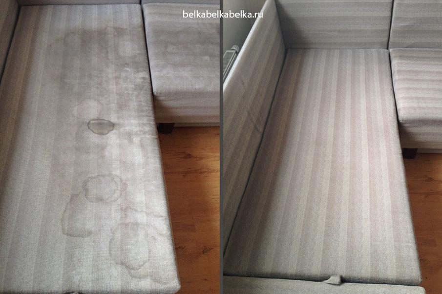 Химчистка углового дивана, Стандарт 3d+