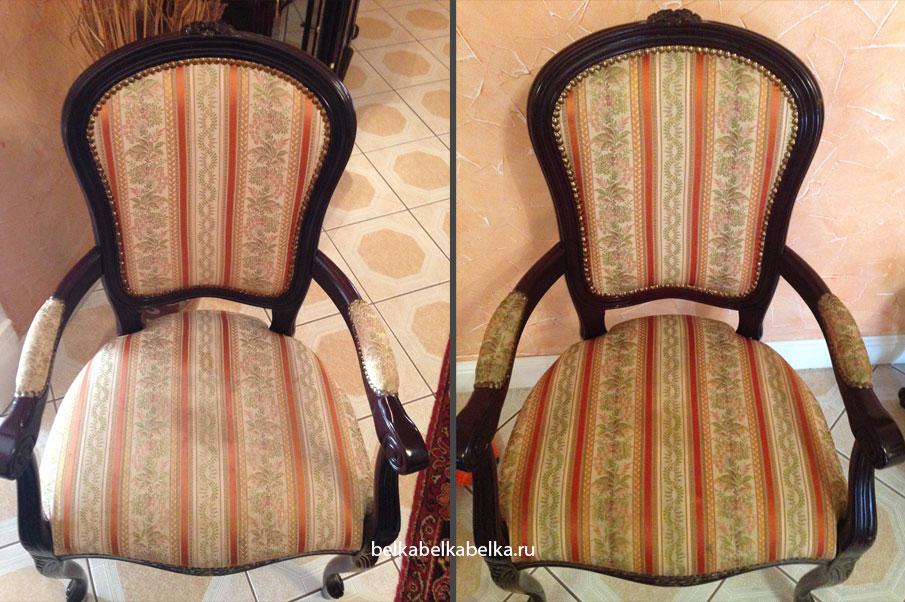 Химчистка текстильного стула со спинкой, пакет Стандарт